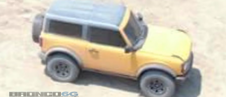 2021 Ford Bronco Caught Undisguised!