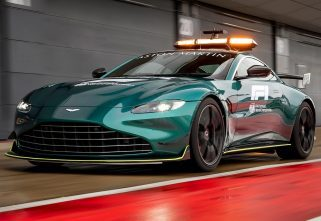 Official: The Aston Martin Vantage Will Be F1's New Safety Car